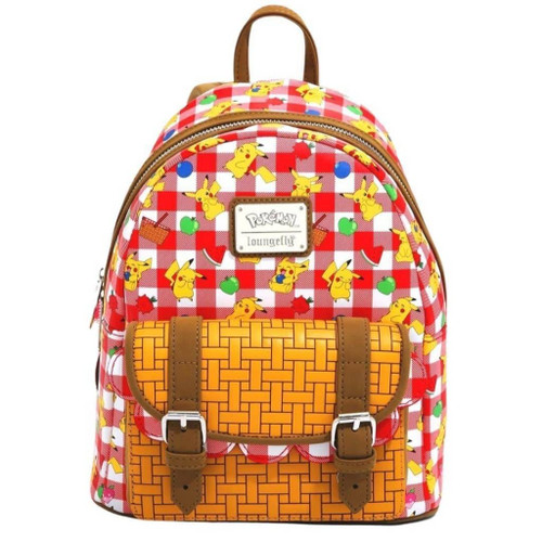 LF POKEMON PIKACHU PICNIC BASKET MINI BACKPACK