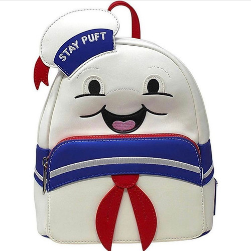 LF GHOSTBUSTERS STAY PUFT MARSHMALLOW MAN MINI BACKPACK FRONT