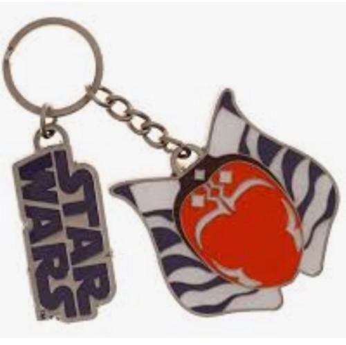 Star Wars Ahsoka Tano Keychain