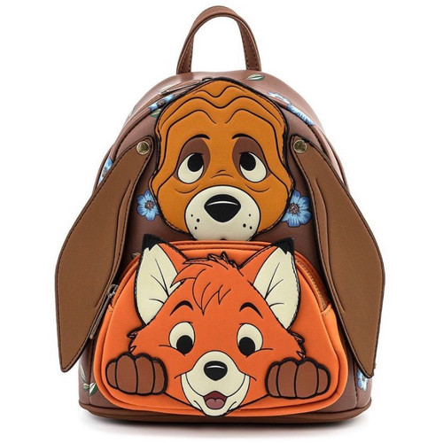 LF DISNEY FOX AND HOUND TODD AND COPPER MINI BACKPACK