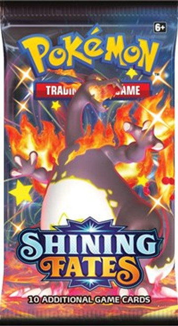 Shinning Fates Pokemon Trading Card Game Shining Fates Booster Pack [10 Cards]