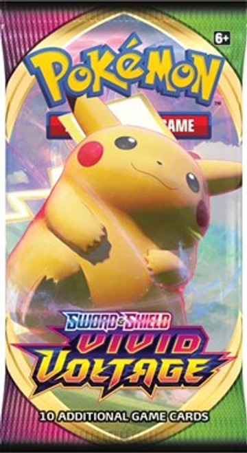Pokemon: Trading Card Game Sword and Shield Vivid Voltage Booster Pack (10 card pack)