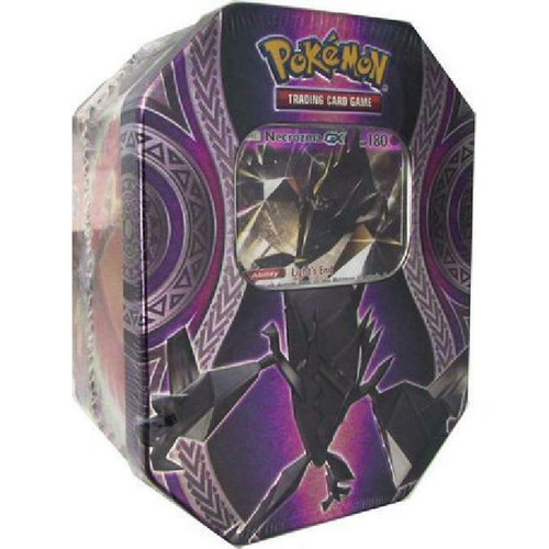 Pokemon 2017 Fall Tin Mysterious Powers Tin with Necrozma-Gx Pokemon 2017 Fall Tin Mysterious Powers Tin