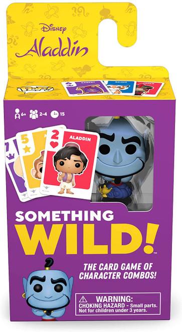 Funko Something Wild! Disney Aladdin - Genie Card Game