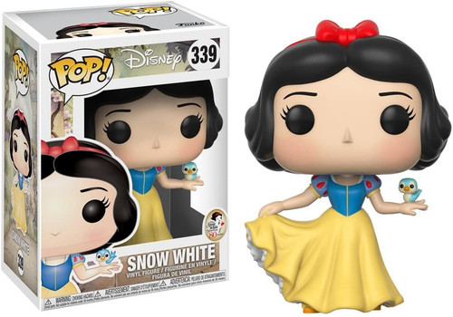 Disney: Snow White and the Seven Dwarfs - Snow White Funko Pop! Vinyl Figure (Includes Pop Box Protector Case)