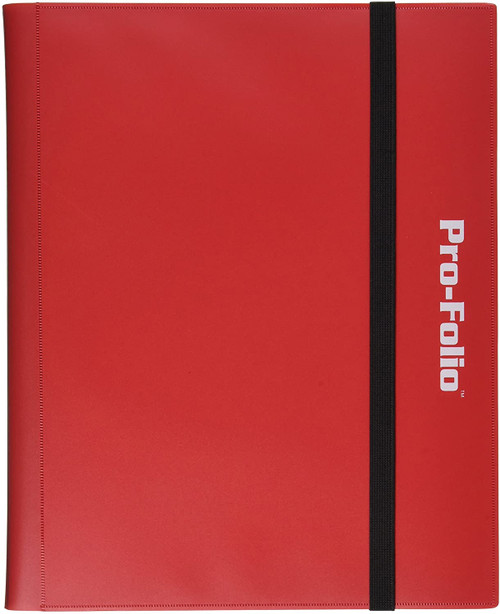 Binder: 9pkt: Pro-Folio: RED