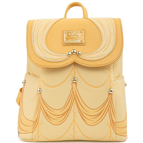 LF DISNEY BEAUTY AND THE BEAST BELLE COSPLAY MINI BACKPACK FRONT