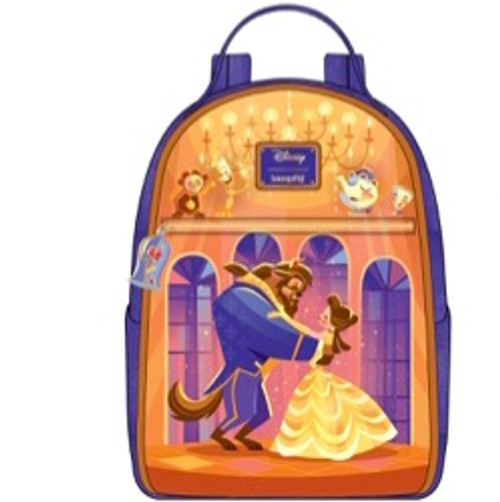 LF DISNEY BEAUTY AND THE BEAST BALLROOM SCENE MINI BACKPACK