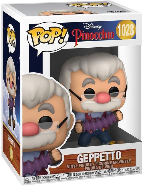 Funko Pop! Disney: Pinocchio - Geppetto with Accordion #1028