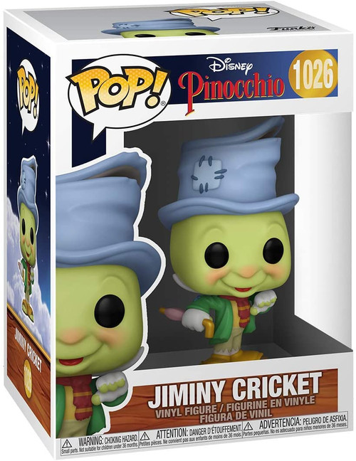 Funko Pop! Disney: Pinocchio - Street Jiminy Cricket # 1026