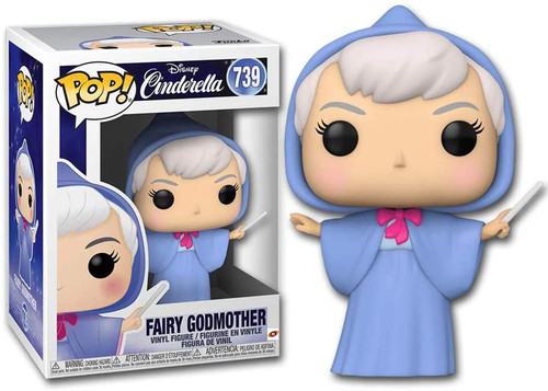 Funko Pop! Disney: Cinderella - Fairy Godmother #739
