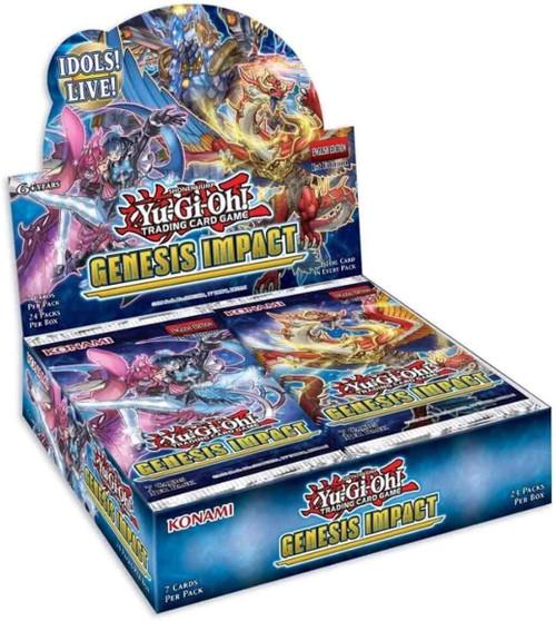 Yu-Gi-Oh Genesis Impact Booster Display Box of 24 Packs