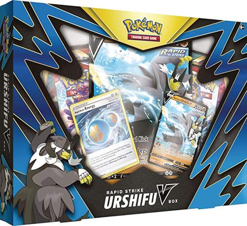 Pokemon  Rapid Strike Urshifu V Box