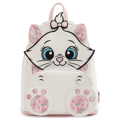 LF DISNEY MARIE FLORAL FOOTSY MINI BACKPACK