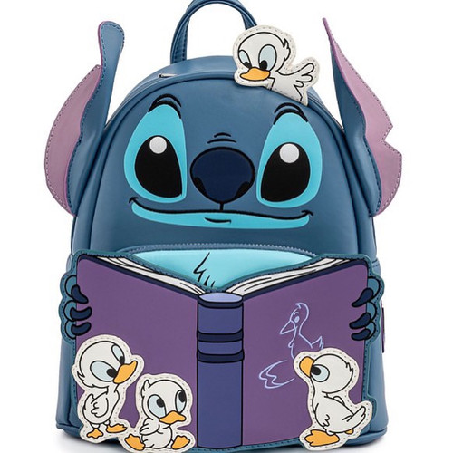 LF DISNEY LILO AND STITCH STORY TIME DUCKIES MINI BACKPACK