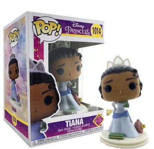 Disney Ultimate Princess Tiana Funko Pop #1014 Comes with Pop protector