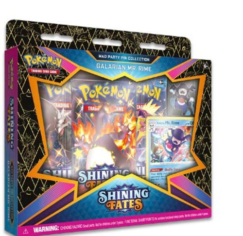 Galarian Mr. Rime Pokémon TCG: Shining Fates Mad Party Pin Collection