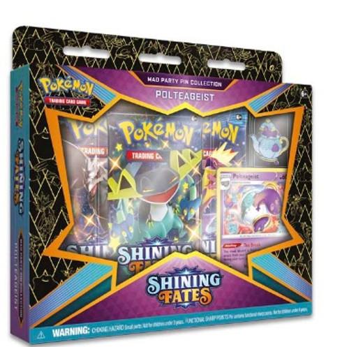 Polteageist Pokémon TCG: Shining Fates Mad Party Pin Collection