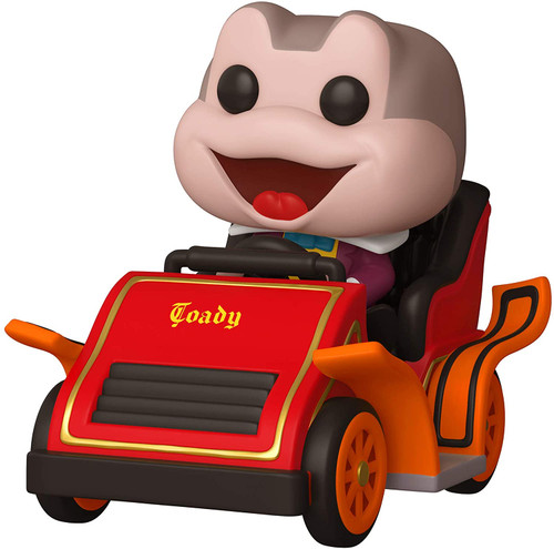 Funko Pop! Ride: Disney 65th - Mr. Toad in Car Red, 6 inches