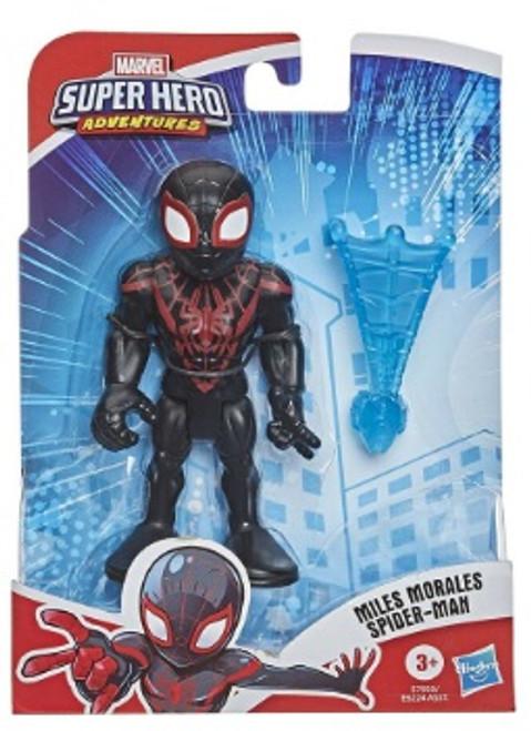 -Marvel Playskool Heroes Super Hero Adventures Miles Morales Spider-Man Action Figure [Kid Arachnid, with Web]