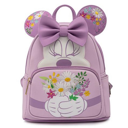 LF DISNEY MINNIE FLORAL COLLECTION MINI BACKPACK (WDBK1763) front
