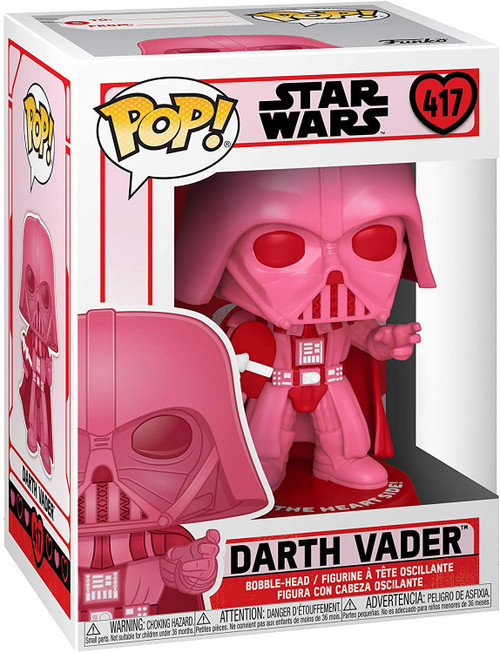Funko Pop! Star Wars: Valentines - Vader with Heart