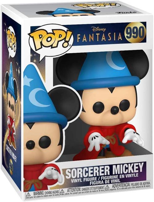 Funko Pop! Disney: Fantasia 990- Sorcerer Mickey Vinyl Figure ( Fantasia 990)