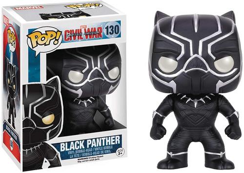Marvel: Captain America 3: Civil War - Black Panther #130 Funko Pop! Vinyl Figure ( Black Panther 130 )