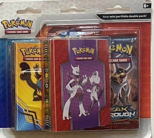 Xy Breakthrough Sun & Moon Mini Portfolio Double Pack ! Pokémon booster!