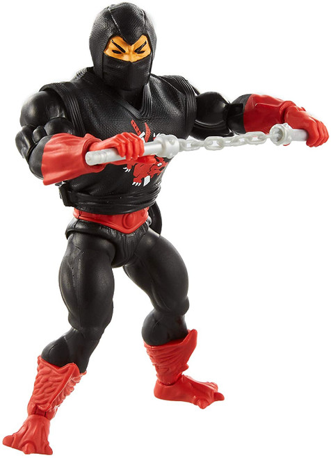 Masters of the Universe Retro Ninjor Action Figure NEW FOR 21