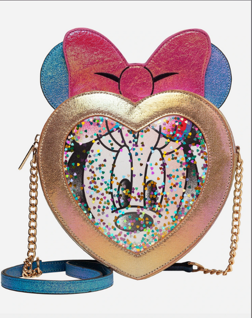 Minnie Mouse Confetti Crossbody