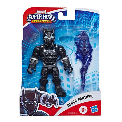 Marvel Super Hero Adventures Black Panther Action Figure