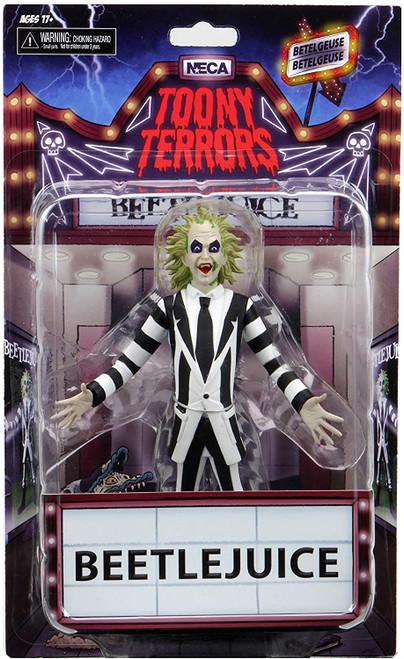 "Toony Terrors – Series 4 – Beetlejuice -- 6"" Scale Action Figure"