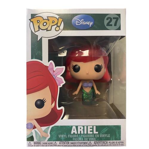 Funko POP Disney: Ariel Little Mermaid Vinyl Figure Glitter #27  (with pop protector)