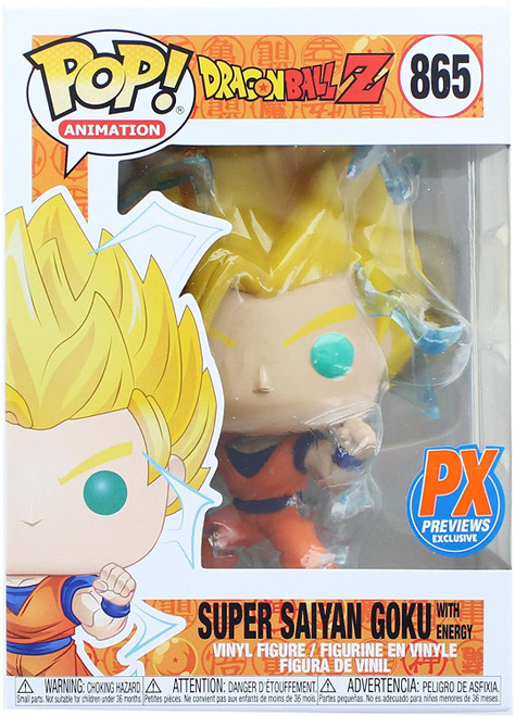 Pop! Animation: Dragon Ball Z - Super Saiyan 2 Goku PX Previews Limited Edition Exclusive (comes with pop protector)