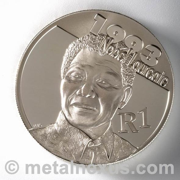 Mandela R1 Silver 2007