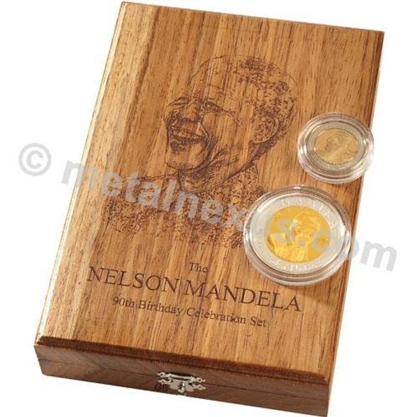 Mandela 90th Birthday Celebration Set Box