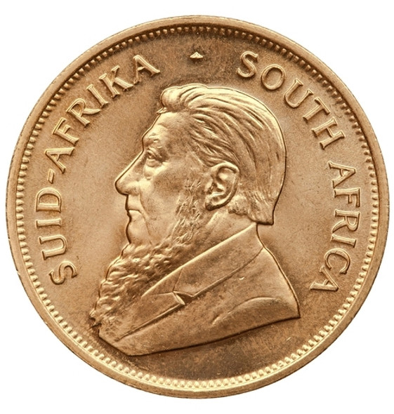 Krugerrand Quarter Ounce Gold - Paul Kruger is depicted on every Krugerrand