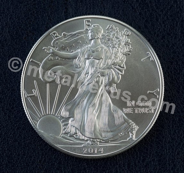 US Silver Eagle Fine Silver 1 Oz