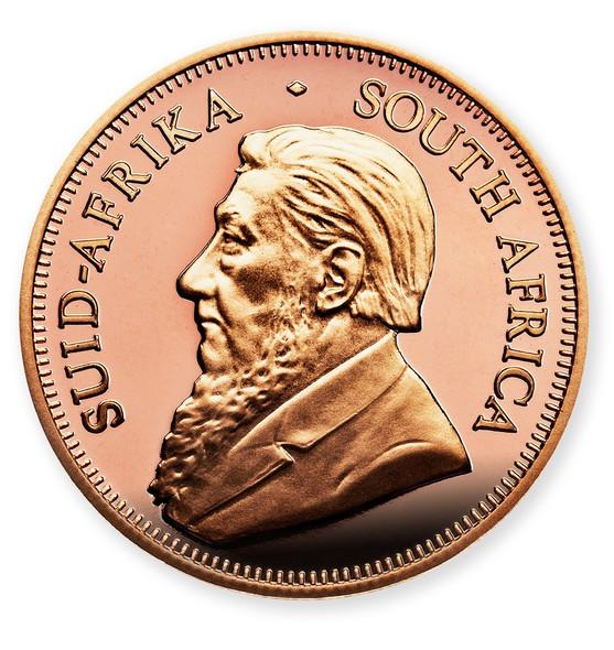 Krugerrand Proof 1/10 Oz Gold Coin 2015 - Obverse