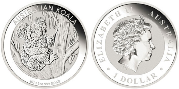 Australian Silver Koala 1oz