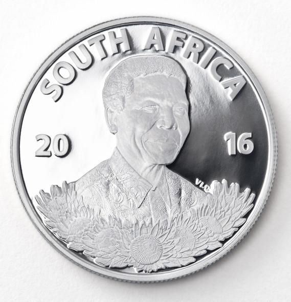 Protea Silver Proof 2016 - Obverse