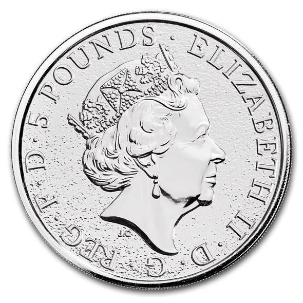 2oz Silver Coin - The Dragon