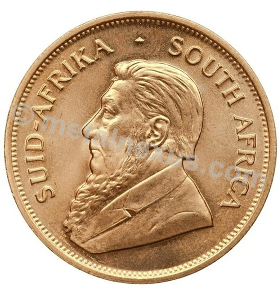 Paul Kruger is depicted on every Krugerrand