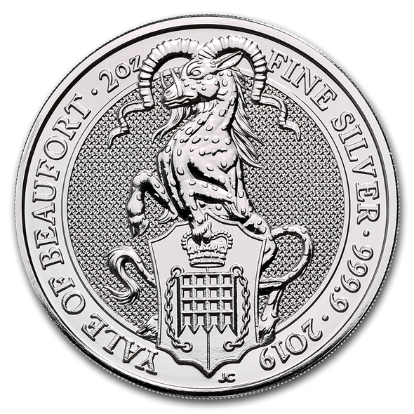 2019 Great Britain 2 oz Silver - The Yale
