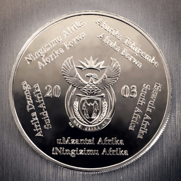 2003 Silver Crown - Obverse.