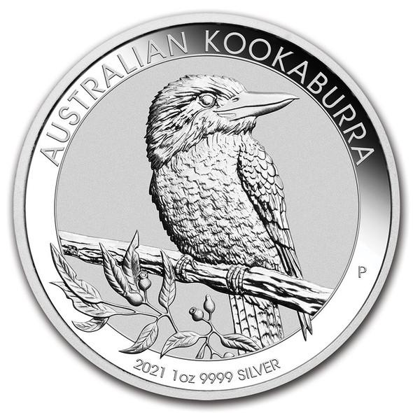 2021 Silver Kookaburra 1 Oz.