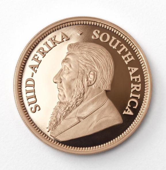 Krugerrand Proof 1/4 Oz Gold Coin 2019 - Obverse