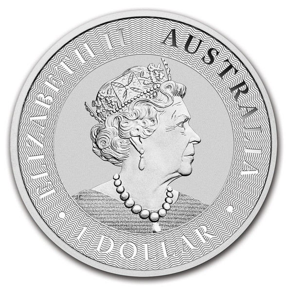 Silver Kangaroo 1 Oz - Obverse