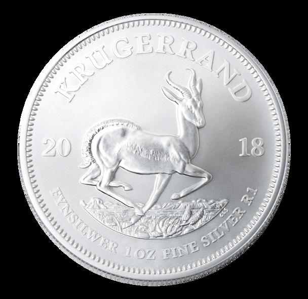 Reverse - Silver Bullion 1 Oz Krugerrand